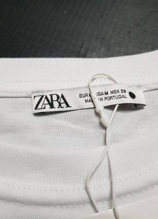 Классная футболка zara размер с, м5 фото