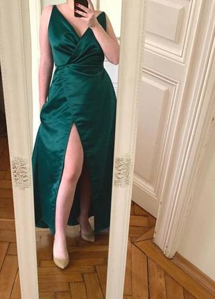 Атласні сукні для дружок з кишенями, шиті на замовлення