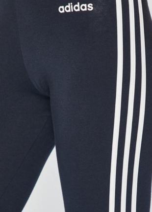Мегакрутые фирменные хлопковые лосины леггинсы батал adidas оригинал3 фото
