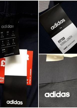 Мегакрутые фирменные хлопковые лосины леггинсы батал adidas оригинал10 фото