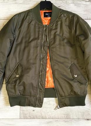 Утеплённая куртка бомбер женская с fb sister