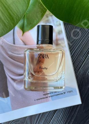 Zara fruity духи парфюмерия туалетная вода оригинал испания купить