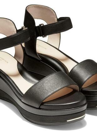Cole haan grand ambition flatform sandal босоножки 39 р.