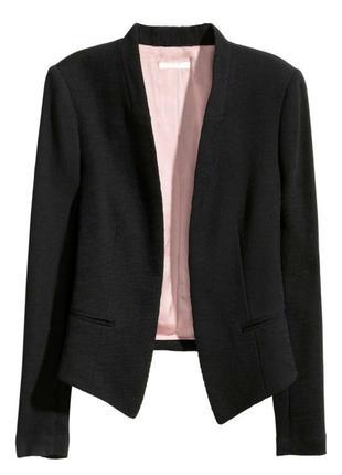 Пиджак жакет черный h&m