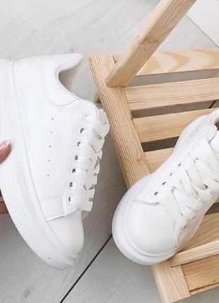🔥🔥🔥распродажа 🔥 утеплённые кроссовки в стиле aleksander mcqueen