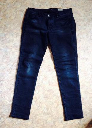 Темно-серые джинсы скинни no name