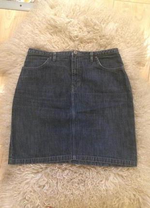 Джинсовая юбка бренда yudashkin