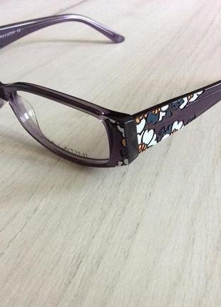 Красивая оправа очки окуляри с флексами lina latini