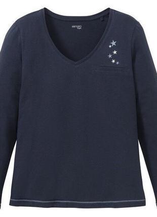 Женская кофта пижамная домашняя esmara.