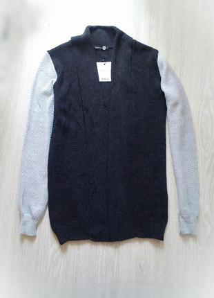 Кардиган вязаный кофта свитер новый