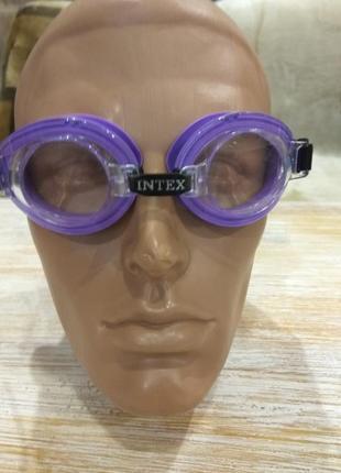 Очки для плавания intex