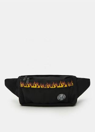 Поясная сумка baltic games бананка спортивная сумка огонь