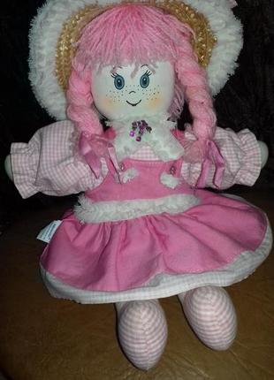 Тряпичная кукла_сувенир