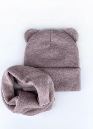 Скидка 🔥тонкие наборы ангора весна осень  46-50 52-54 шапка снуд