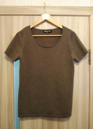 Кофта футболка из кашемира