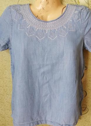Esprit блуза 100%лиоцель.