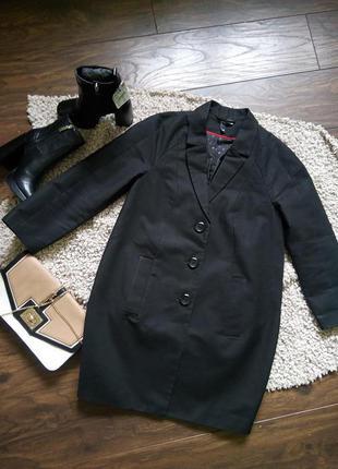 Крутое пальто бойфренд h&m