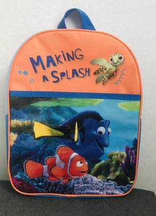 Рюкзак дошкольный 3-6 лет в поисках рыбки дори