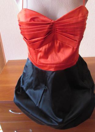 Платье короткое h&m