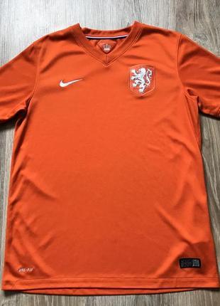 Подростковая коллекционная футбольная джерси nike netherlands holland national team