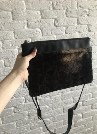 Стильная леопардовая сумочка