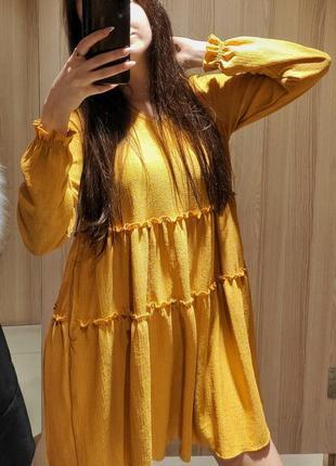 Крутое платье оверсайз