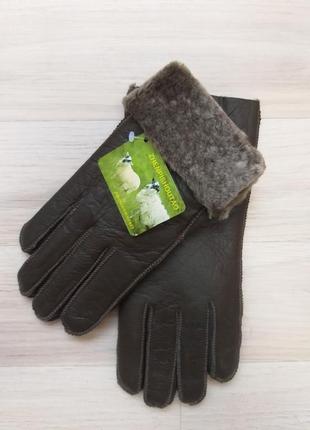 Женские кожаные перчатки на натуральной овчине