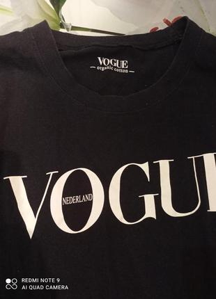 Фирменная футболка vogue2 фото
