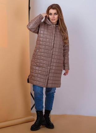 Куртка тренч женская мокко