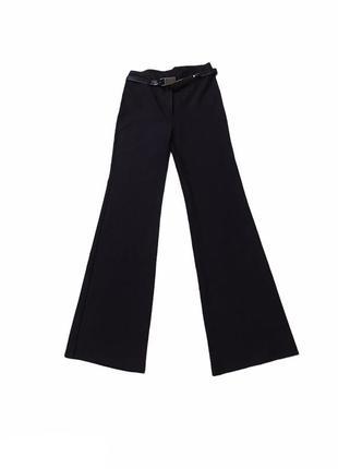 Брюки классические черные клеш штаны костюм олд скул