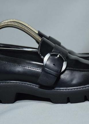 Geox quinlynn мокасины лоферы туфли женские кожаные. италия. оригинал. 35 р./23 см.