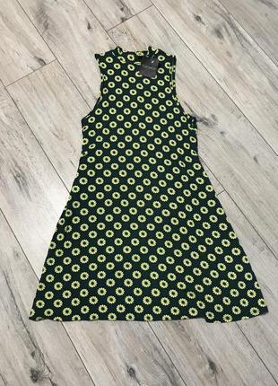 Яркое платье topshop