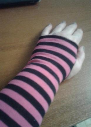 Трикотажные без пальцев