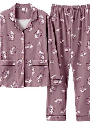 Піжама жіноча { домашній одяг }