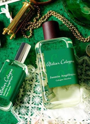 Atelier cologne jasmin angelique оригинал_cologne 5 мл затест