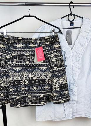 Стильная брендовая юбка monsoon лондон этикетка