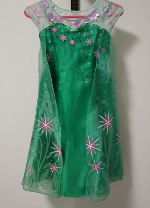 Платье эльзы disney