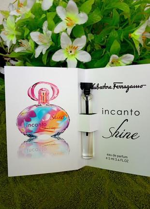 Парфюм с феромоном  salvatore ferragamo incanto shine (5 мл)