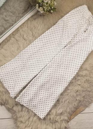 Класснючие вискозные штаны от m&s рр 10 наш 44