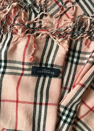 Стильный шарф палантин burberry