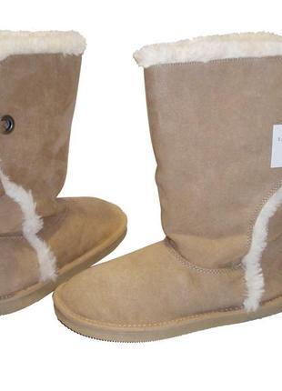Распродажа сапоги на меху женские сапожки теплые зимние бренд lands end р.36