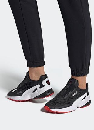 Новые кроссовки adidas falcon zip ef3644 40р оригинал