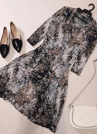 Приятное к телу  платье размер xl