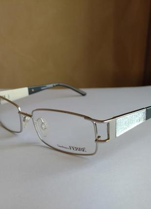 Фирменная оправа под линзы,очки оригинал gf.ferre