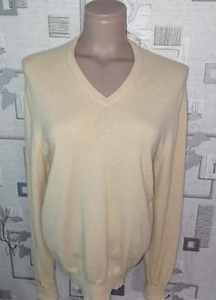 Кашемировый свитер пуловер джемпер hawick