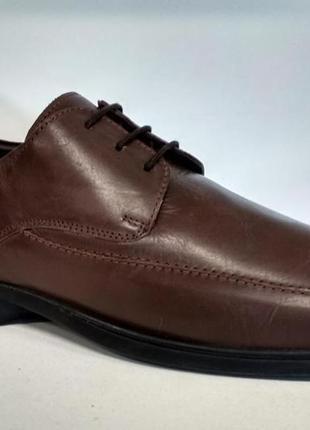 Ecoflex мужские кожаные туфли. оригинал.