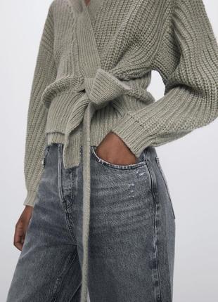 Кардиган кофта пиджак на запах