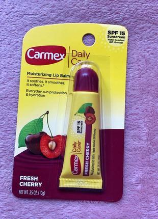 Бальзам для губ carmex вишня с spf 15