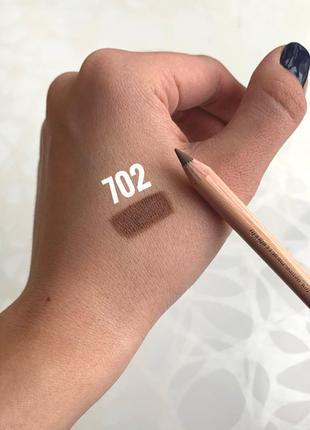 Карандаш miss tais №702 матовыйкоричневый для губ глаз чехия