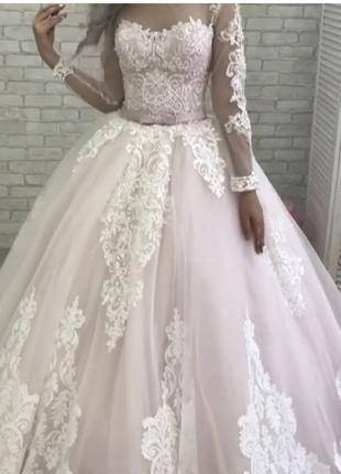 Свадебное платье 46 размер